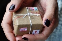 Packaging/Gift Wrap / We love creative gift wrapping and beautiful packaging!