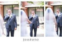 First Look / Wedding Day Reveal, Bride and Groom, First Look, Father and Daughter First Glance