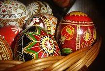 Ukrainian eggs /   / by Alice