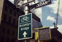 Signs of NYC / Placas (Signs) de Nova Iorque (NYC)