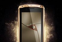 LAMBORGHINI SMARTPHONE / The new Antares smartphone from Tonino Lamborghini has flashed like a bright star in the world of high fashion, luxury and modern technology. The arrival of this model with a touch screen in the Tonino Lamborghini collection marks an important step in spreading the company's influence to high technology.