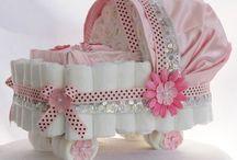 BABY SHOWER STUFF ! / New baby ideas  / by Paula Gross