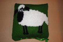 Knitting, crocheting - pletení, háčkování / knitting, crocheting -  pletení, háčkování