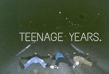 Cheers to the teenage years / Oh how hipster of you / by Hannah South