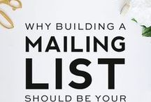Grow Your email List / How to grow your email list and book more clients.