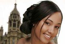 Wedding Hairstyles for the women of colour / Here are ideas on how to style your wedding hair look!
