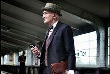 Mature Chic: Men / Dapper and elegant gentlemen with style.