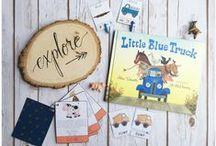 Little Blue Truck Preschool Unit / Free Preschool Unit on Little Blue Truck!