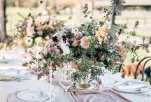 Wedding Inspiration for Table setup & Tablescape / Wedding inspiration ideas on how to set up an elegant wedding table.