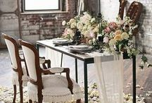 Bohemian Inspired Wedding Theme / Get all your Bohemian styled wedding Inspiration