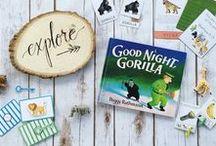 Good Night, Gorilla Preschool Unit / Free Preschool Unit on Good Night Gorilla!