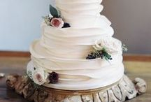 Wedding Cake Inspiration & Ideas / Want to get wedding cake inspiration for your up coming wedding? Click through our Pinterest