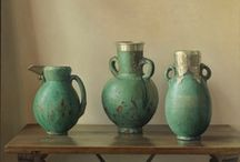 OBJET D'ART ~ Ceramics, porcelain, glass, pewter, antiques etc