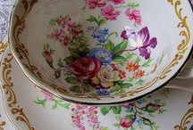 FINE CHINA, porcelain, glass etc. .