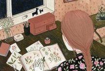 Illustración - Lifestyle / Ilustraciones que representan un estilo de vida.