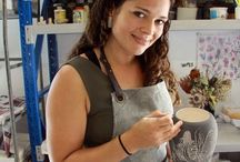 The Making Process; Creating my ceramic works / Wheel thrown pottery, art and sculpture