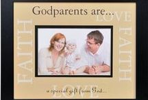 Godparents Gifts / Great godparent gift ideas, appreciate these special people in your life.