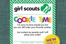 Everything Girl Scouts / Get everything u might need for troop party cookie booth troop meeting  / by Jennifer Lashhorn