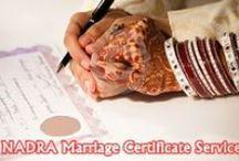 Marriage Documentation in Islam / Muslim marriages hve lots of features like proper documentation like NADRA Marriage Certificate in Pakistan, Nikah Nama, etc.