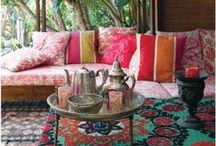NUSOL - HOME DECOR & STYLING / Interior design & decorating - mainly bohemian lite, Mediterranean, Spanish