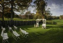 Ceremonies - Fowler's Mill Golf Course / A variety of ceremonies held at our three outdoor ceremony locations.