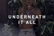 Underneath It All / Lingerie we love!
