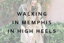 Walking In Memphis In High Heels Store