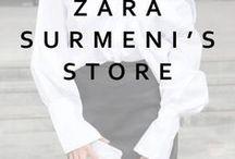 Zara Surmeni's Store