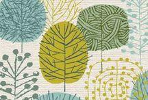 Ilustración - Patterns / Ilustración de patrones, texturas y colores.