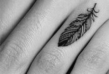 TATTOOS feathers