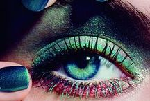 """Beauty & make-up / """"The most beautiful makeup of a woman is passion. But cosmetics are easier to buy."""" (Yves Saint-Laurent)"""