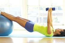 Fitness Stability Ball & Swiss Ball /  Stability Ball Exercise also called a Swiss Exercise Ball