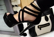 """Shoes & bags / """"For women, shoes are the most important. Good shoes take you to good places."""""""