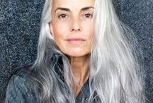 White . Silver . Platinum . Salt & Pepper . Gray Hair / White . Silver . Platinum . Salt & Pepper . Gray . Hair / by Thomas Bachman