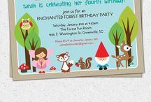 Fifth birthday woodland fairy ideas / For Maisy and Martha's joint party
