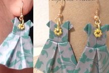 # by Ninfa Pema  art, craft, paper jewellery l / Paper creation,craft, by ninfa pema