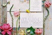 Stationery ; Invitations and Pretty Paper