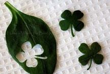 St. Patricks Day / Clovers / Crafts and ideas for St. Patty's Day or cool ways to make clovers for 4H.