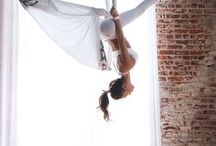 Fitness  Aerial Yoga / Aerial yoga is a fun great workout.