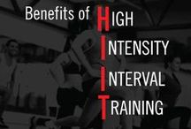 Fitness High Intensity Interval Training HIIT / Discover the amazing benefits of High Intensity Interval Training HIIT