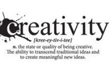 Ispirazioni / La creatività sta nelle piccole cose. La creatività è ovunque. La creatività siamo noi.