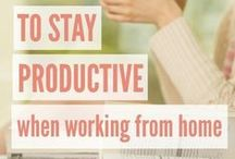 Working From Home / Working from home help and advice