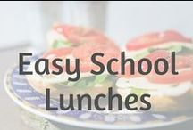 School Lunches Made Easy / School lunch ideas for inspiration | Being an organised productive entrepreneur is something I am proud of | Now you can join me in being the Super Lunch Making Mum Check out these easy to create school lunches