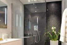 Bathroom Remodel / Stylish decor and arrangement ideas for a master bathroom and small bathroom