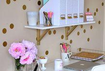 Organised work space