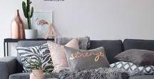 Home sweet home / Interior Deco Home Inspiration - Salon, Pièce à Vivre, Living Room