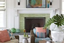 Fireplace - Tile