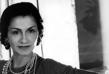 """Chanel / Gabrielle Bonheur """"Coco"""" Chanel was a French fashion designer of women's clothes and founder of the Chanel brand"""