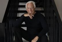 Giorgio Armani / Giorgio Armani is an Italian fashion designer, particularly noted for his menswear. He is known today for his clean, tailored lines