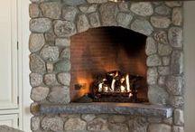 Fireplace - Fieldstone